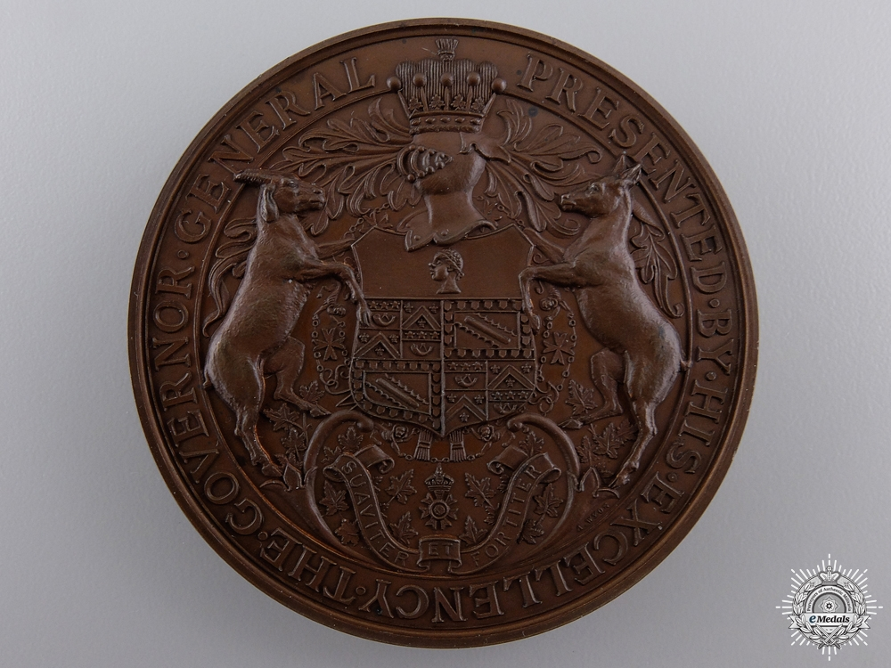 An 1898 Canadian Governor General's Academic Medal