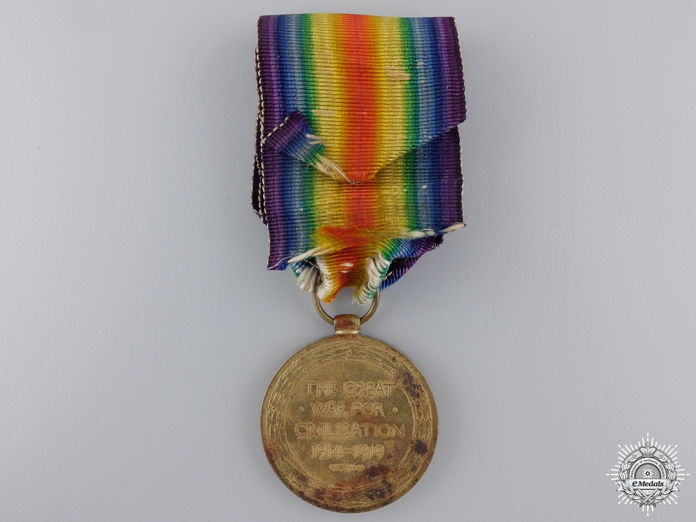 A First War Victory Medal to the Labour Corps