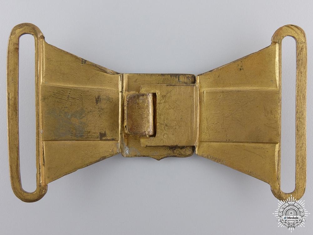 A Second War Czechoslovakian Officer's Dress Buckle