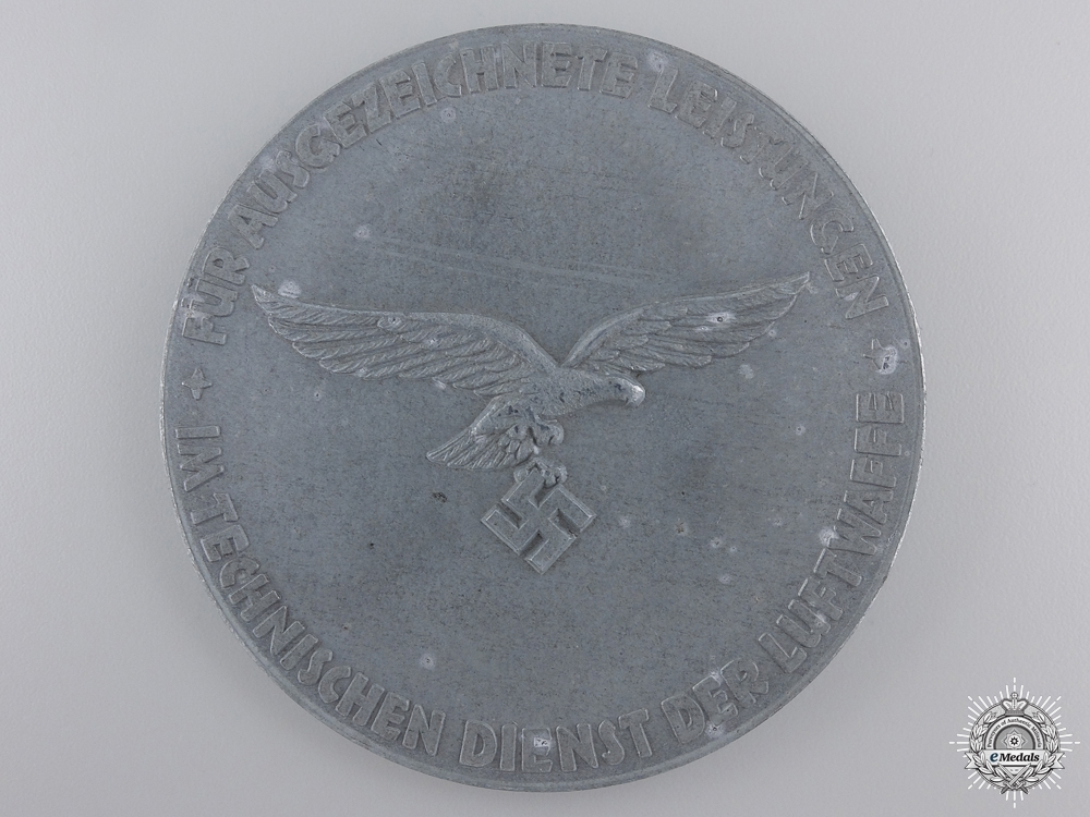 A Luftwaffe Medal for Outstanding Technical Achievements