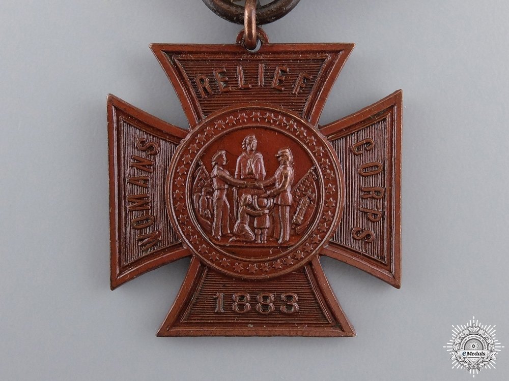 An American Woman's Relief Corps Membership Medal