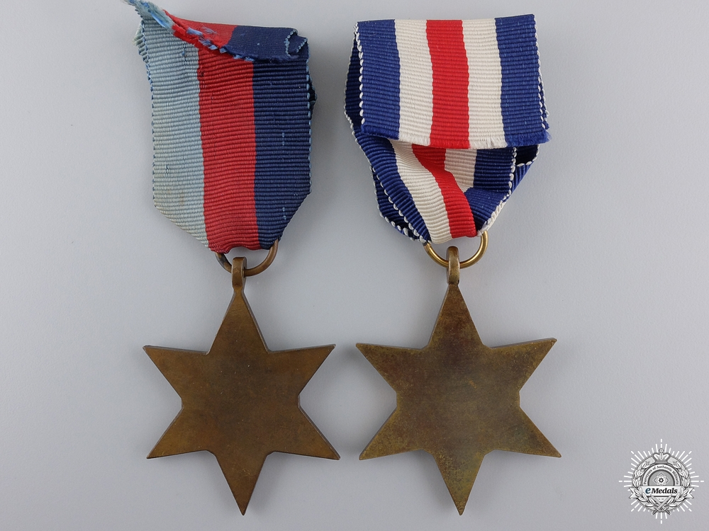 Two Second War British & Commonwealth Campaign Stars