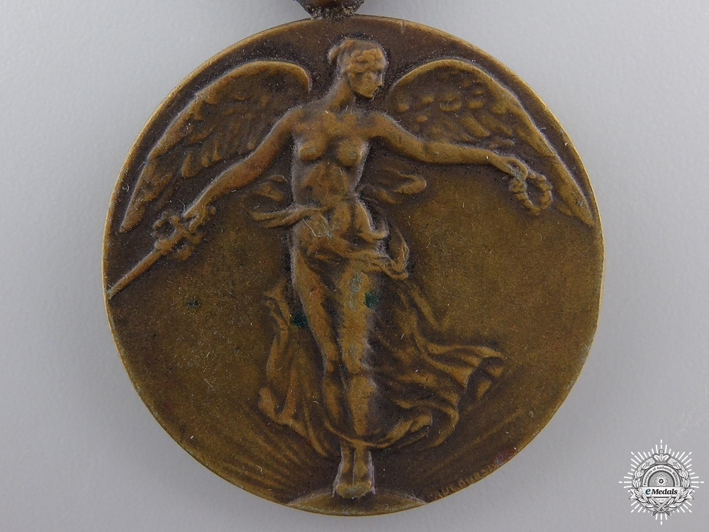 A First War Belgian Victory Medal