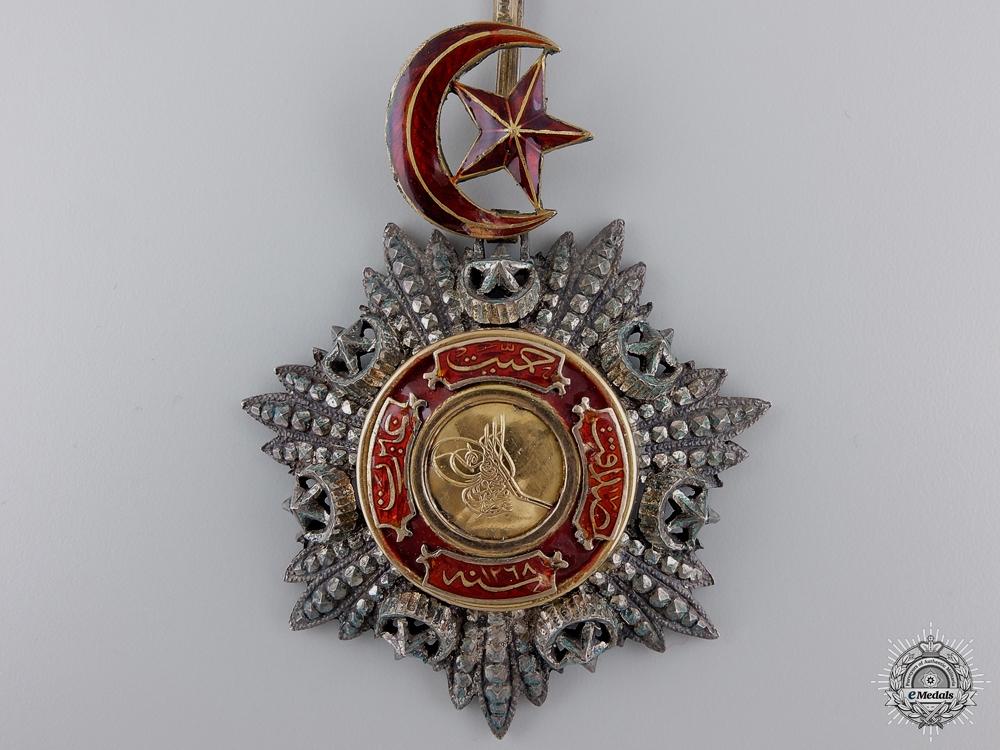 A Turkish Order of Medjidie (Mecidiye); Commander