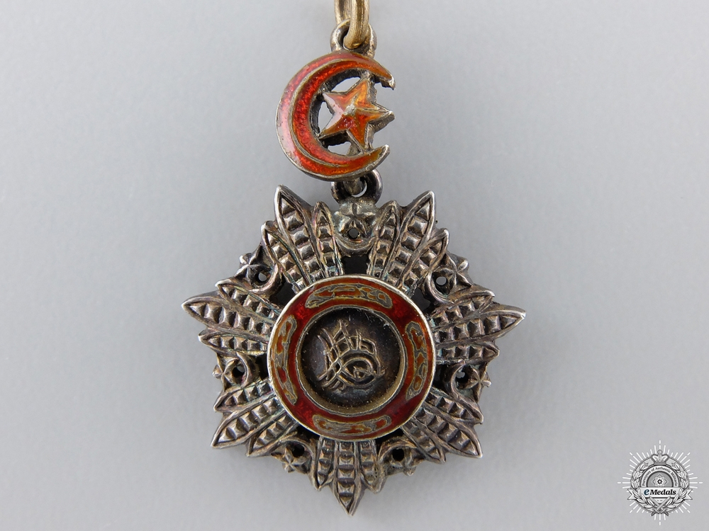 A Miniature Turkish Order of Medjidie;