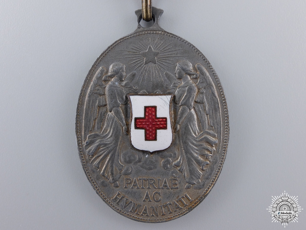 An Austrian Red Cross Decoration Medal