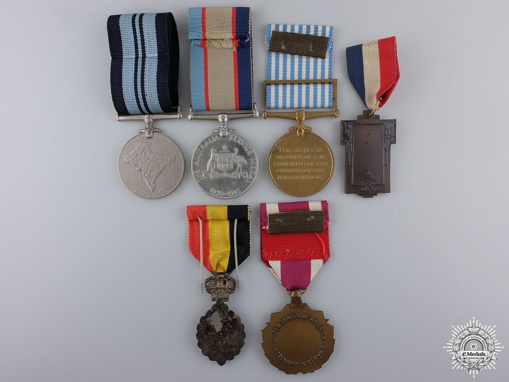 A Second War Group of Six Medals & Awards