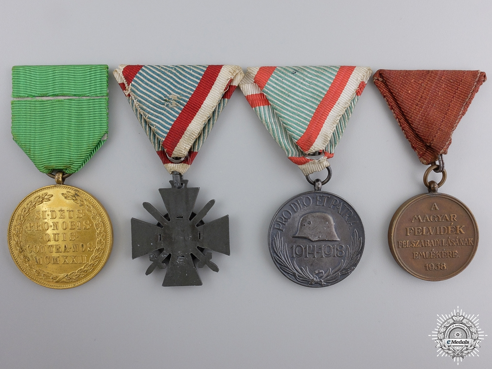 A Hungarian Group of Four Medals