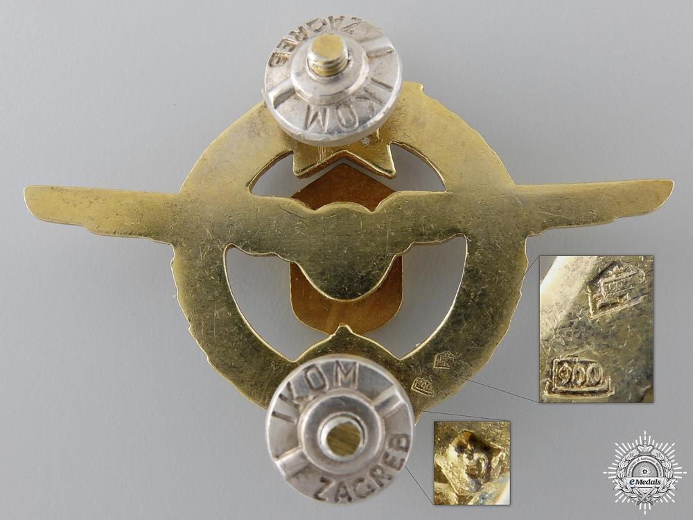 A Yugoslavian Paratrooper's Badge
