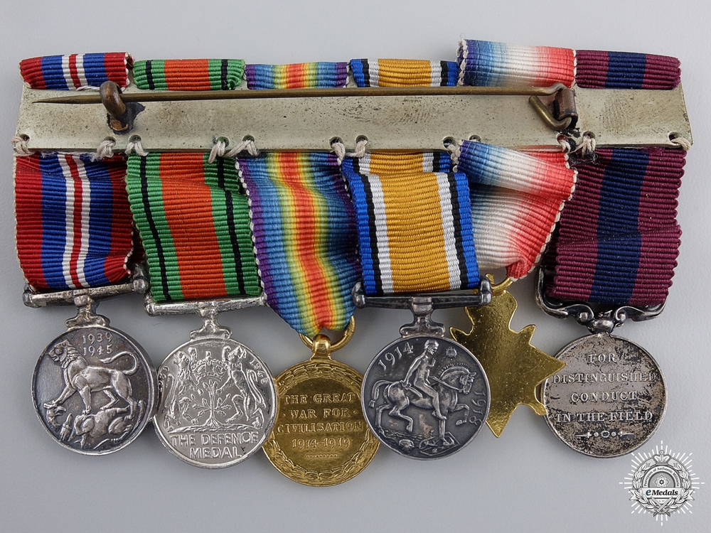 A Miniature Distinguished Conduct Medal Group