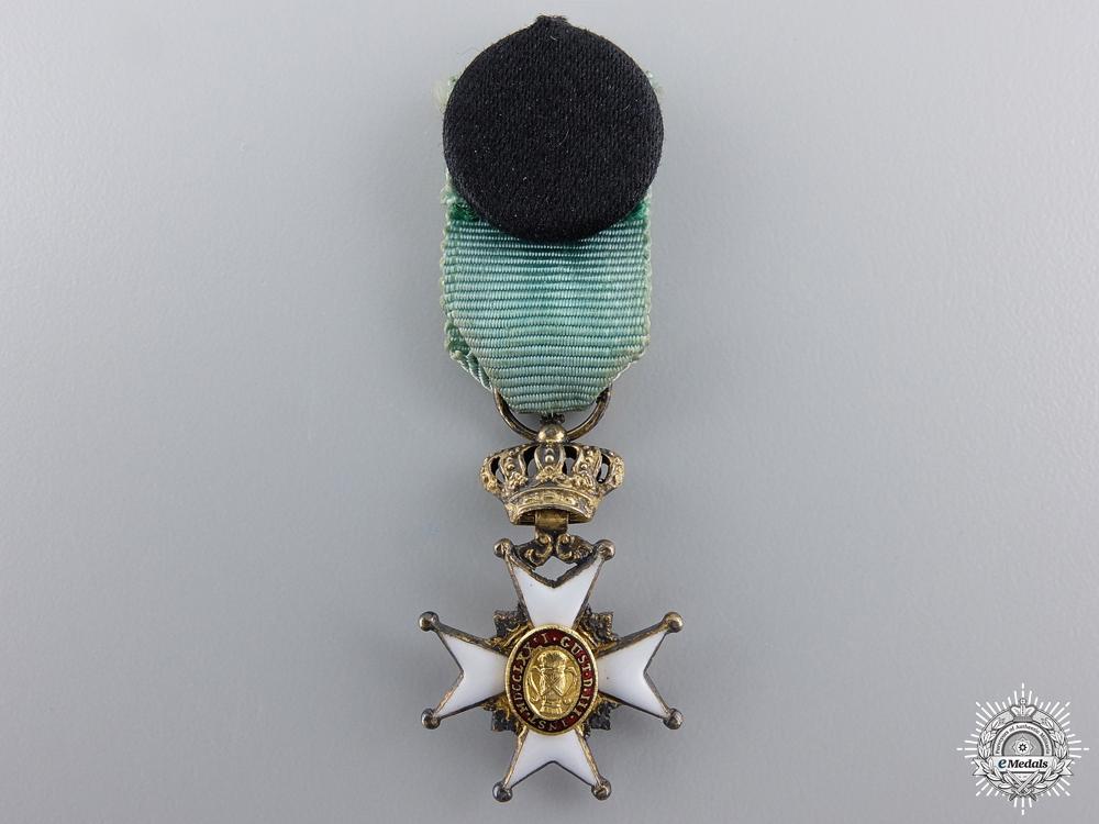 A Miniature Swedish Order of Vasa
