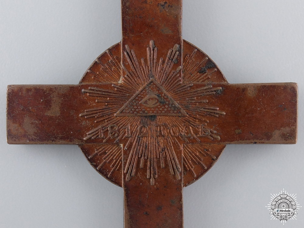 A Rare 1812 Russian Napoleonic Chaplain's Cross
