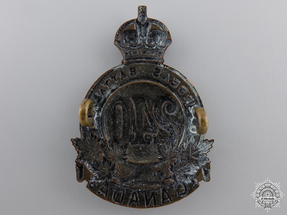 A 240th Overseas Battalion Cap Badge CEF