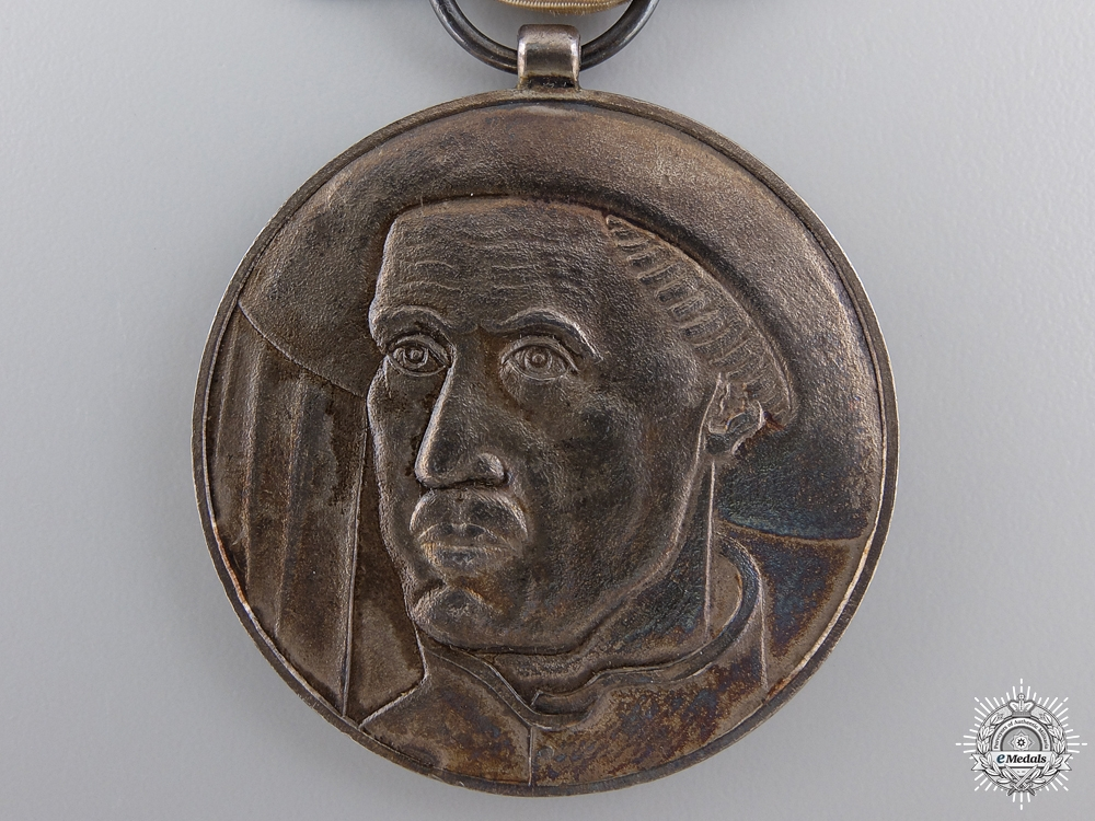 A Portuguese Order of Prince Henry the Navigator; Merit Medal