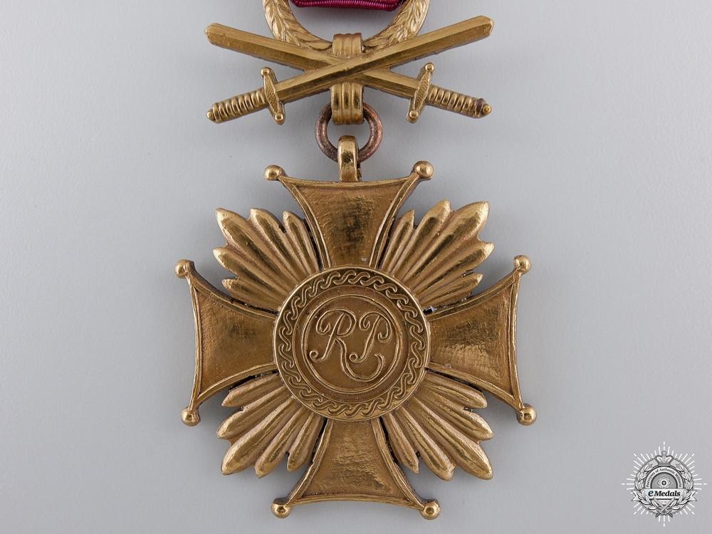 A Polish Cross of Merit with Swords; 3rd Class, c.1940