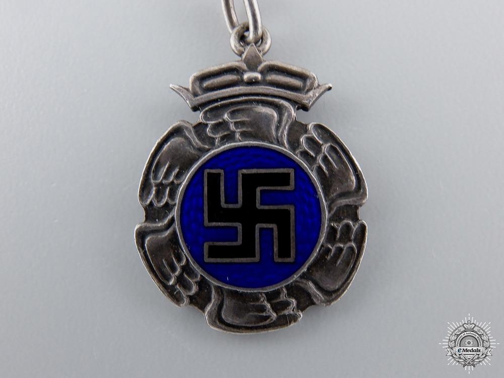 A Second War Miniature Finnish Air Force Pilot's Badge