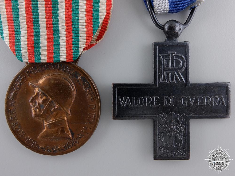 Two First War Italian War Medals