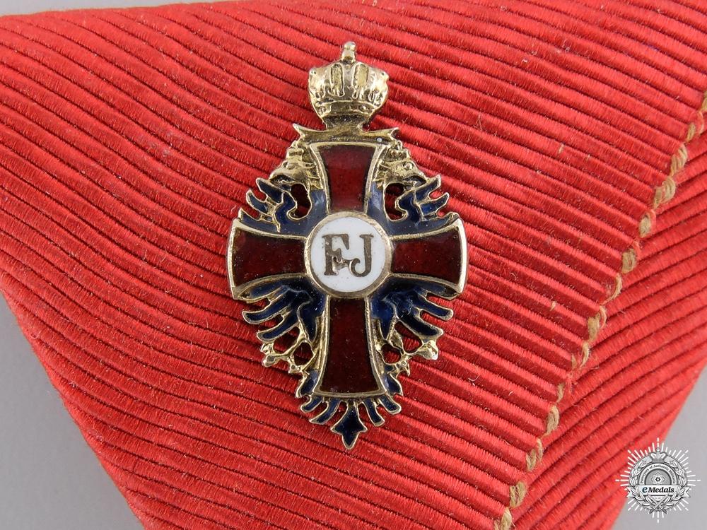 A Miniature Austrian Order of Franz Joseph