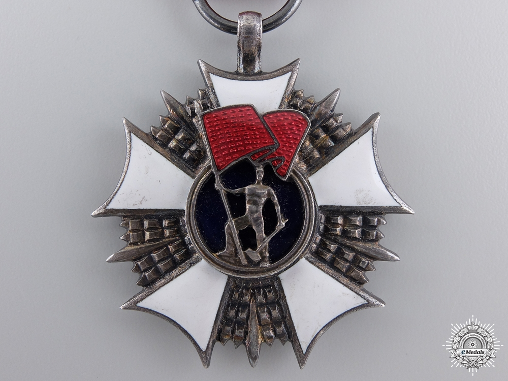A Polish Order of the Standard of Labour; 1st Type