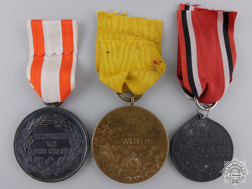 Three First War Prussian Medals and Awards
