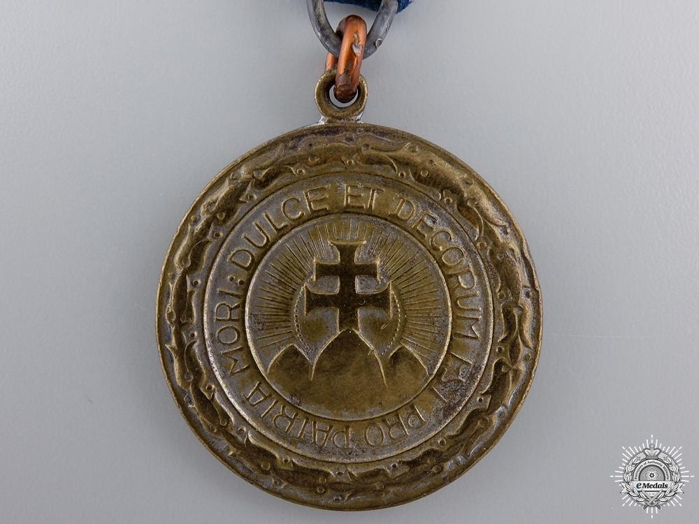 A Hungarian Sports Federation Tournament Medal; Bronze Grade