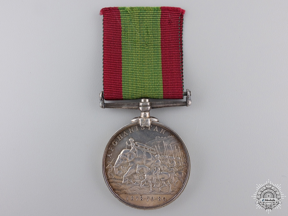 An Afghanistan Medal 1878-1880 to the 61st Regiment of Foot