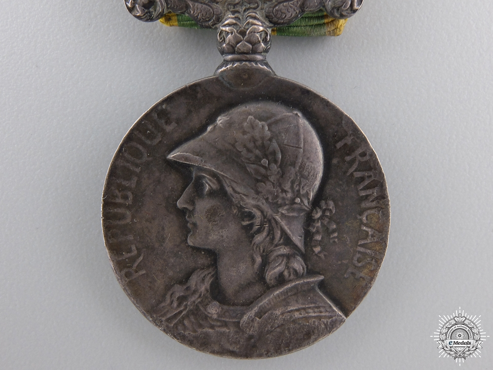 A 1900-1901 French China Medal; George Lemaire