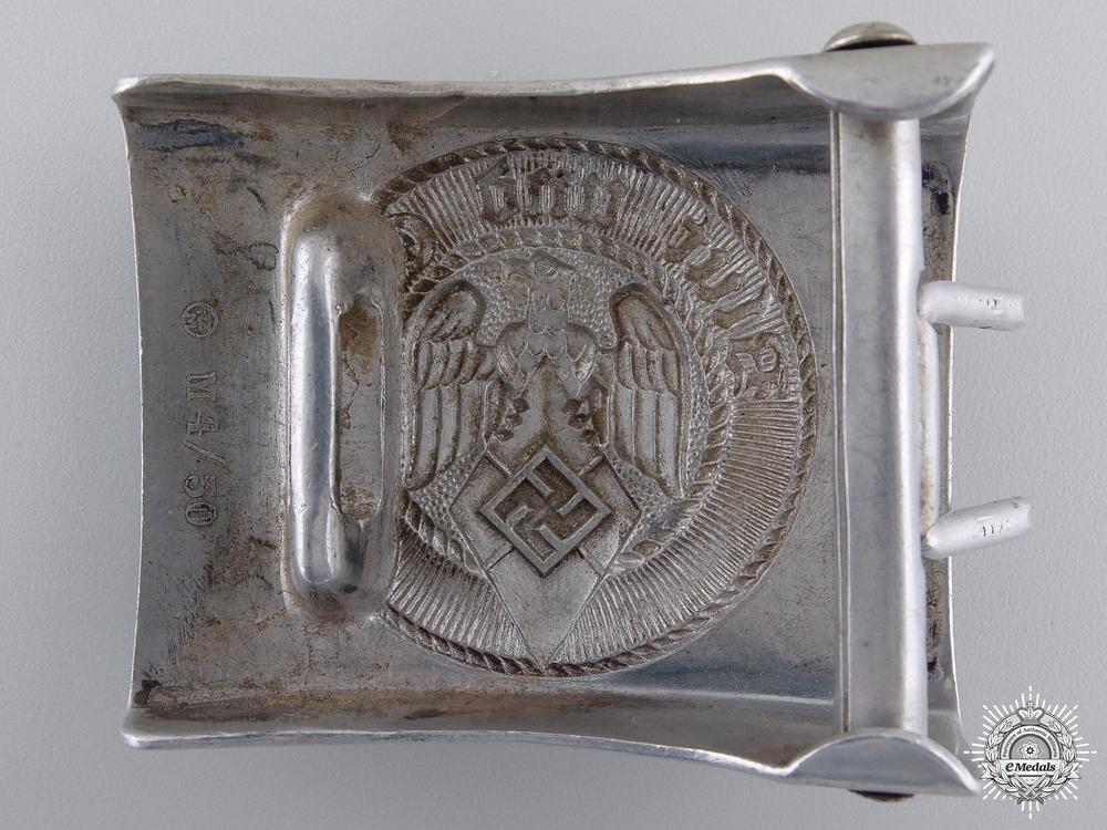 An HJ Belt Buckle by Berg & Nolte