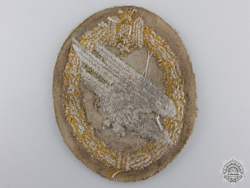A Scarce Army Paratrooper's Cloth Badge
