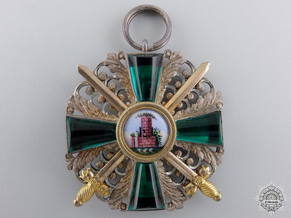 A First War German Order of  the Zahringen Lion Medal Bar