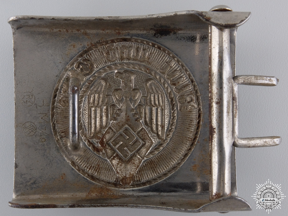 An HJ Belt Buckle by Steinhauer & Luck