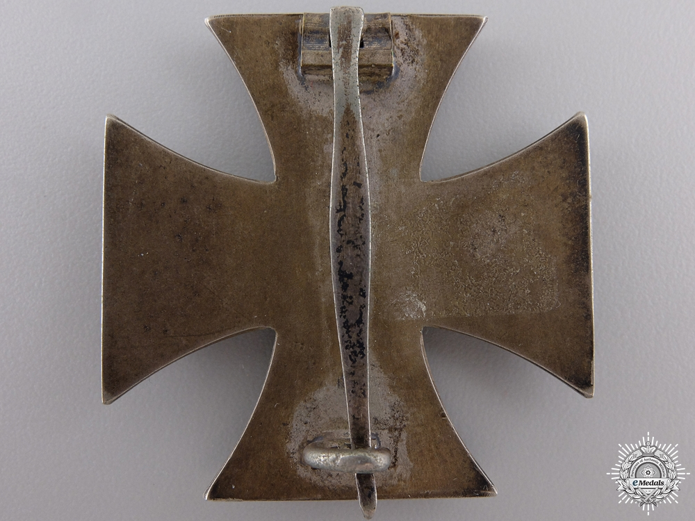 An Iron Cross First Class 1939; Brass Core