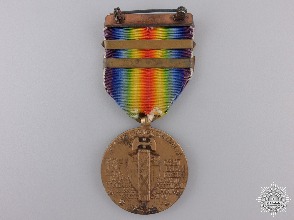A First War American Victory Medal for Northern Bombing Group