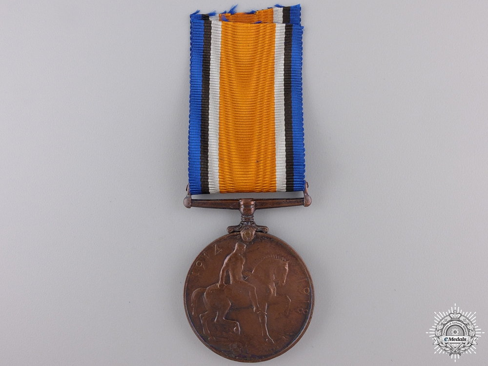 A British War Medal to the Chinese Labour Corps