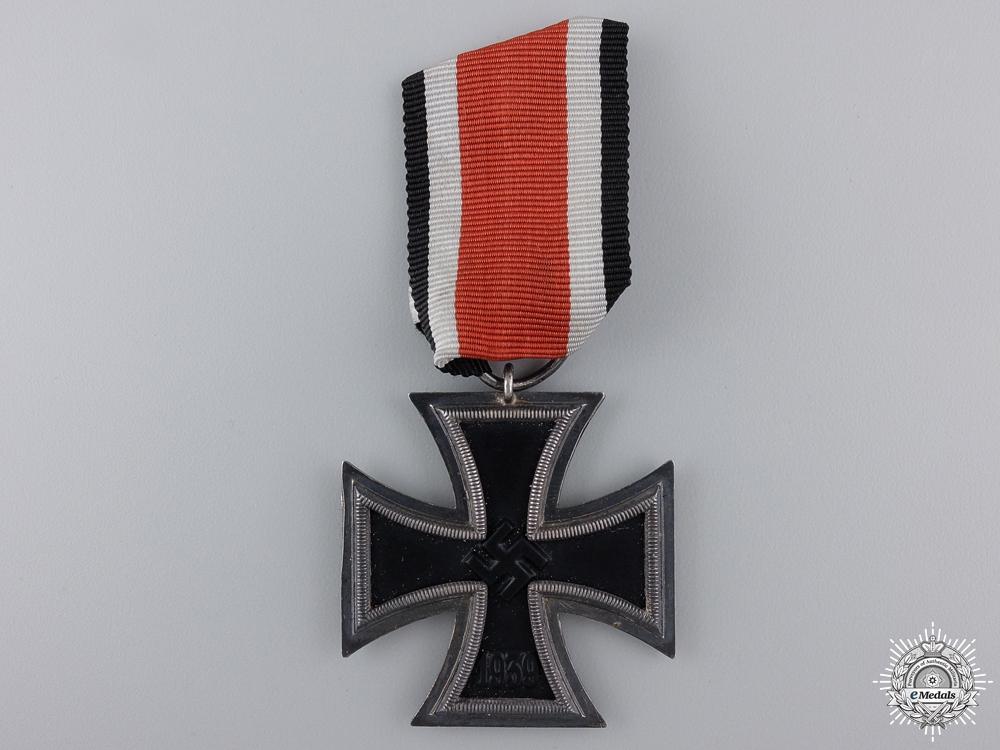 An Iron Cross Second Class & 1940 Document to the Kriegsmarine