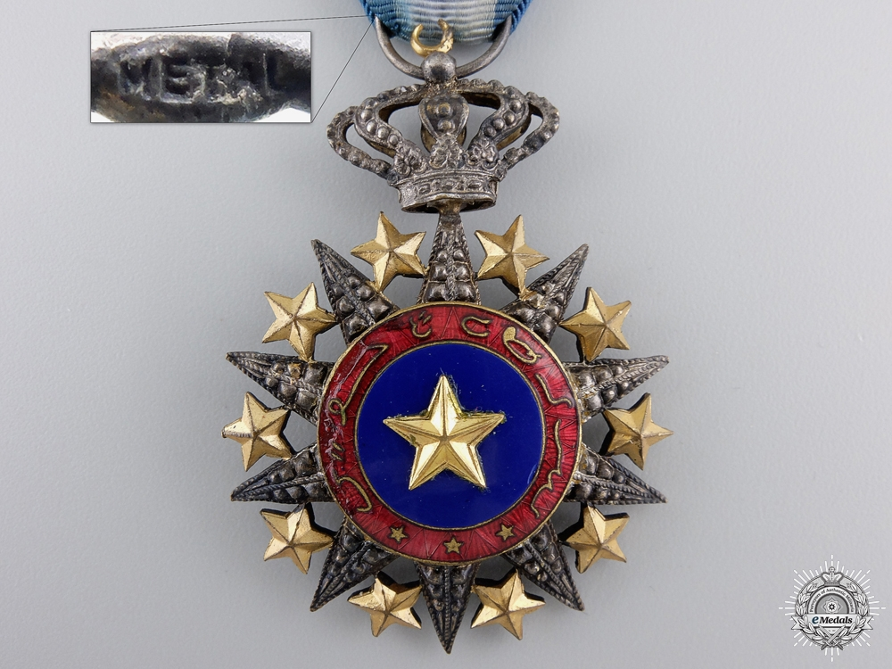A French Somaliland Order of Nichan al-Anouar; Knight