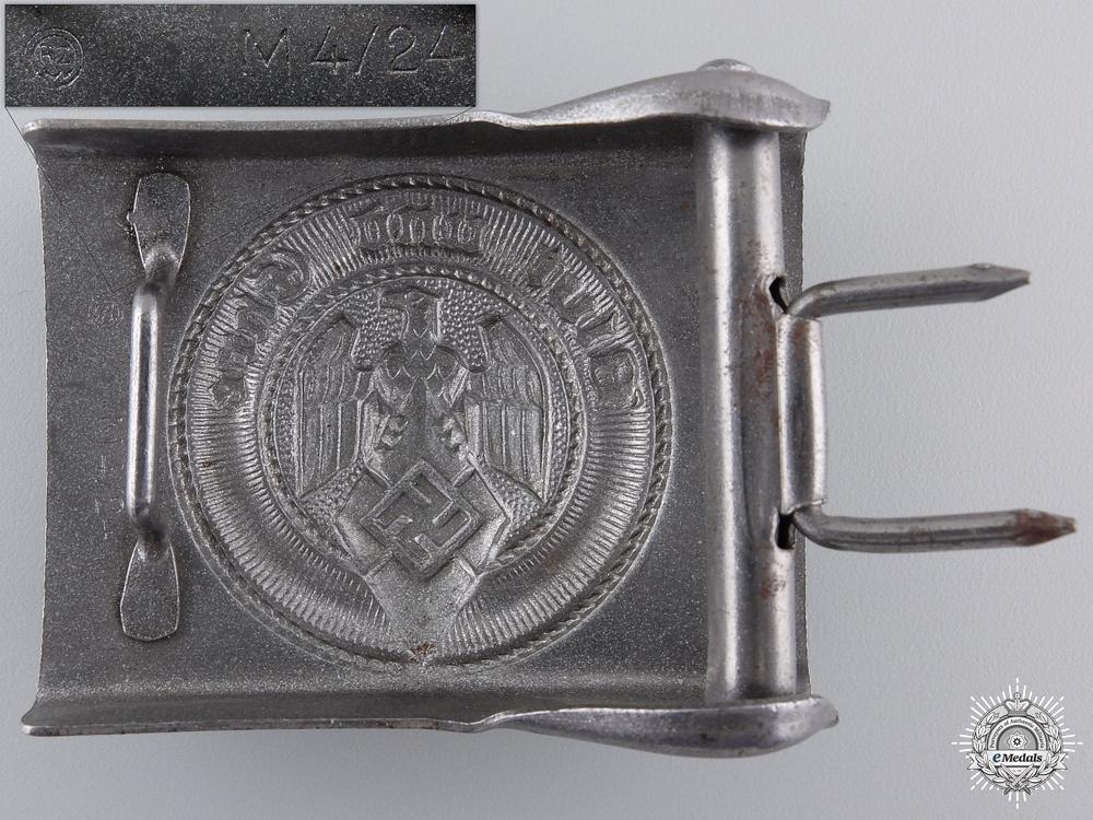 An HJ Belt Buckle by Friedrich Linden, Lüdenscheid