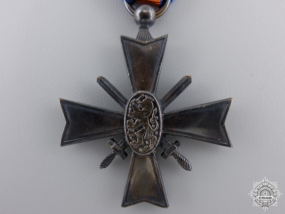A Dutch Cross for Right and Freedom; Korean 1950