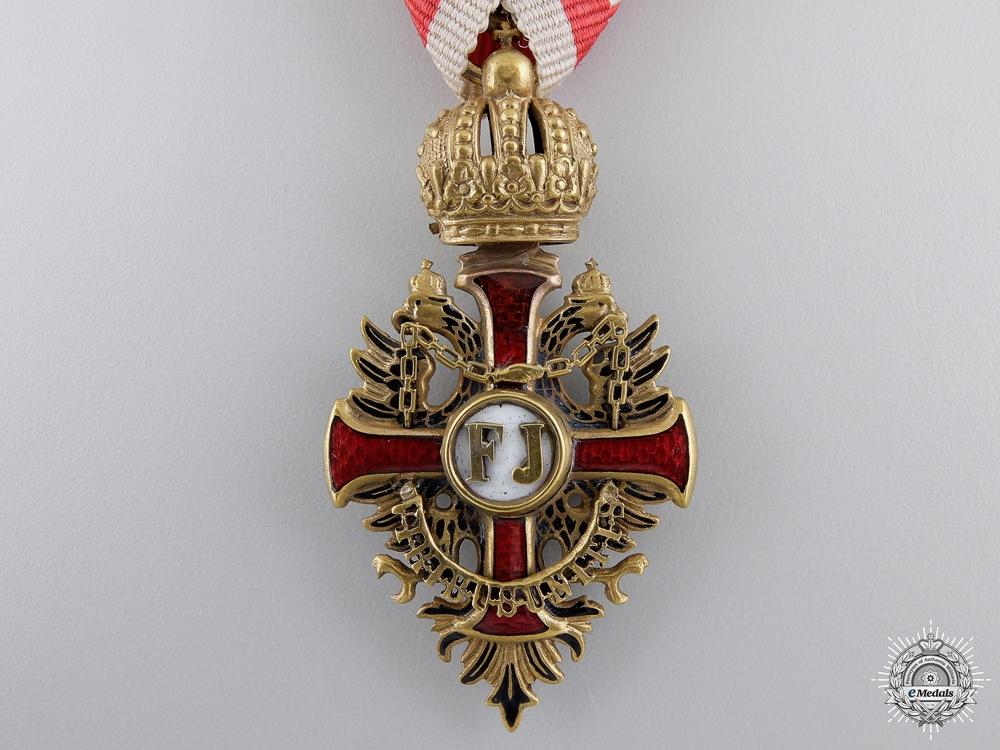 A First War Austrian Order of Franz Joseph; Knight