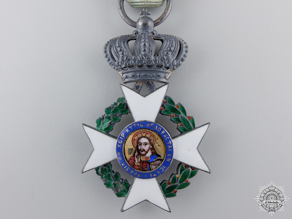 A Greek Order of the Redeemer; Knight`s Cross