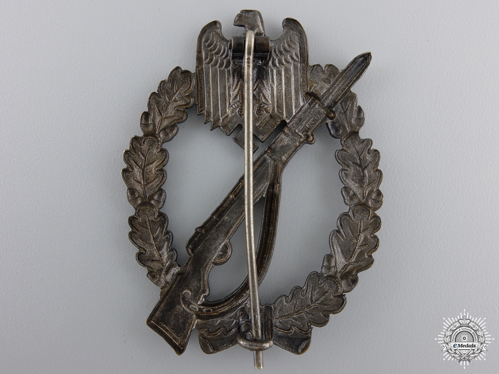 A Mint Bronze Grade Infantry Badge; Meybauer