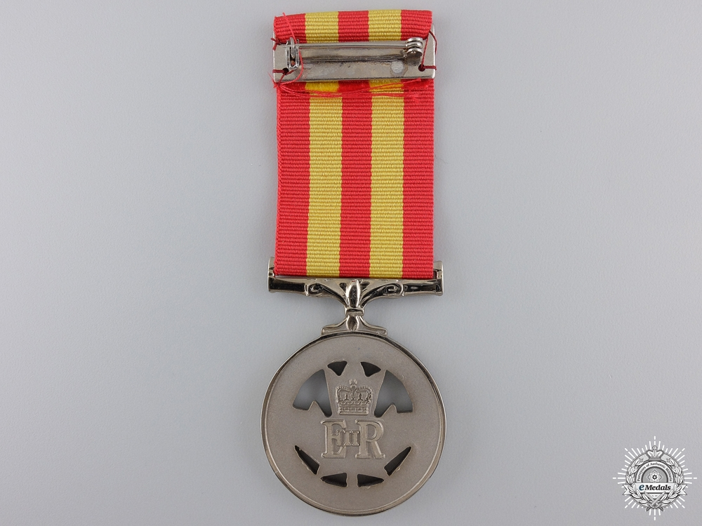 A Canadian Police Service Exemplary Service Medal with Bar