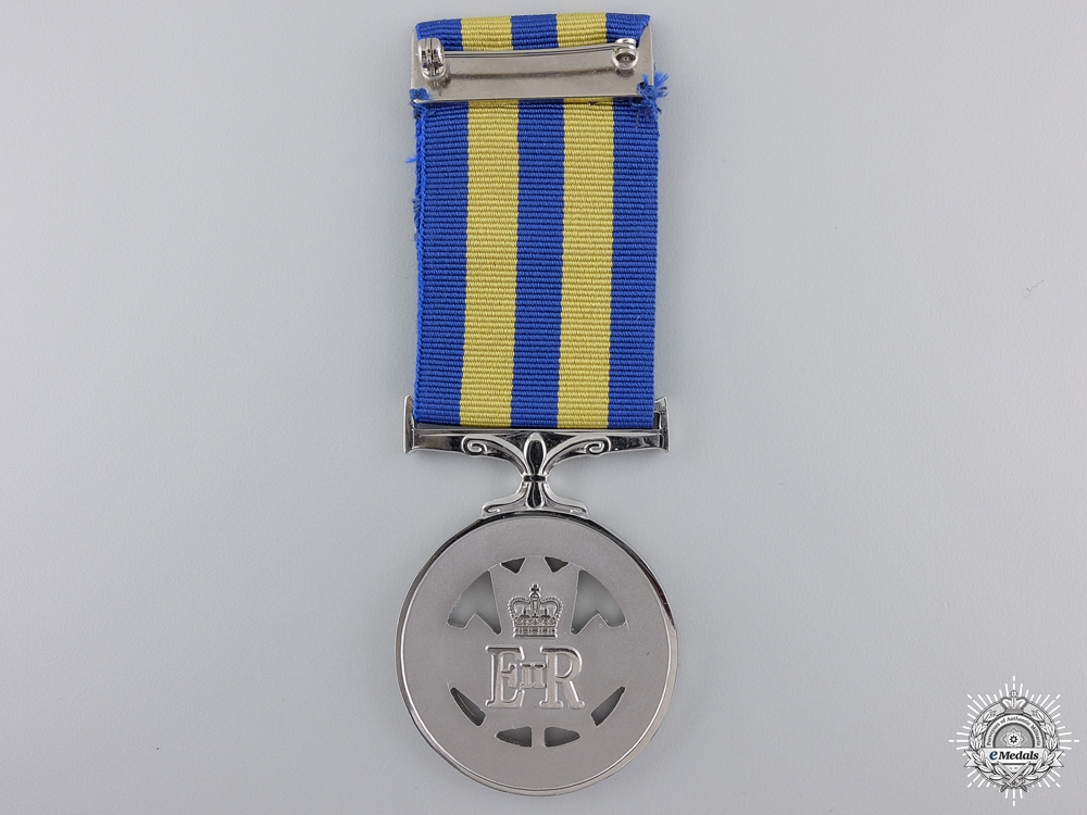 A Canadian Fire Service Exemplary Service Medal to H.A.Mindlin