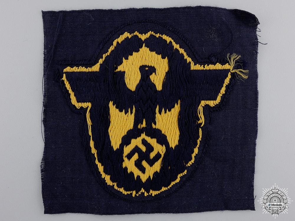 A  Wasserschutzpolizei Civil Police Bevo Sleeve Eagle