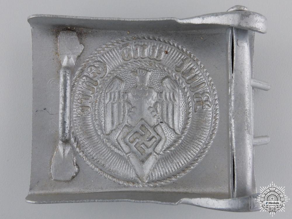 A HJ Members Belt Buckle by Paul Cramer & Co