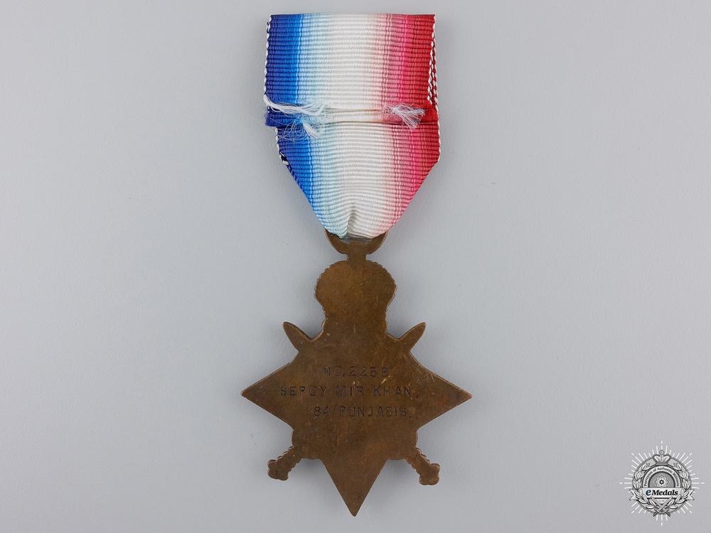 A First War 1914-15 Star to the 84th Punjabis Regiment