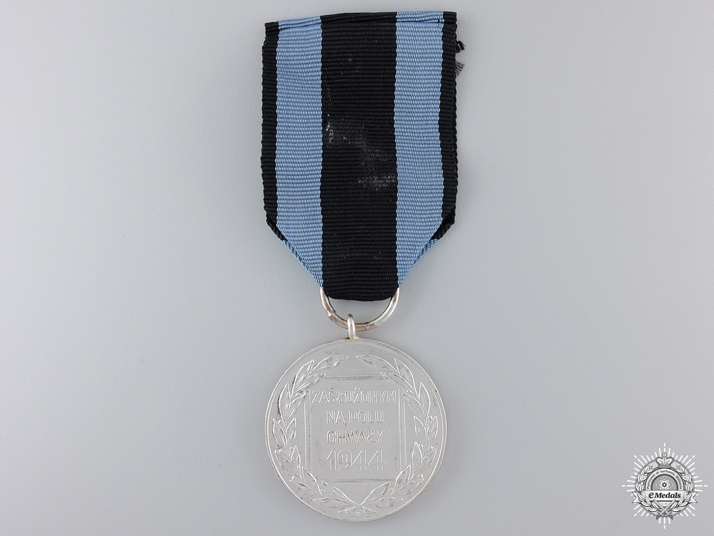 A Polish Medal for Merit on the Field of Glory; 2nd Class