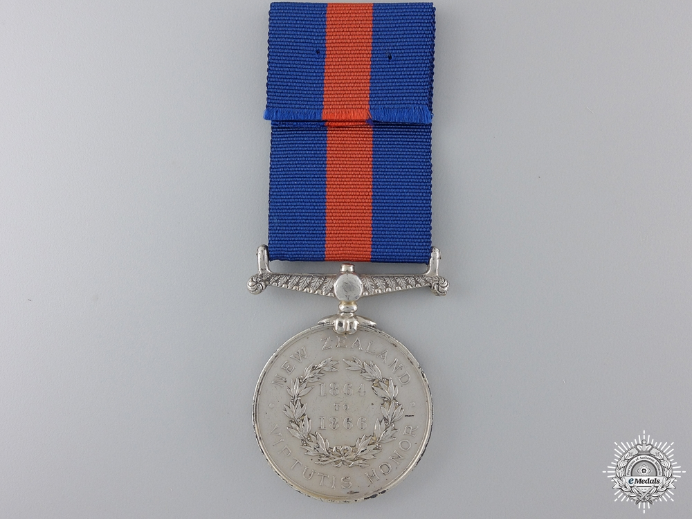 A New Zealand Medal 1845-66 to the Royal Artillery