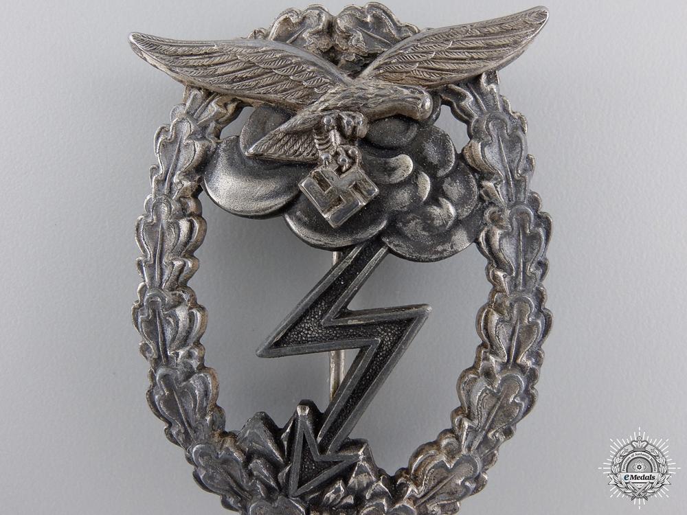 A Luftwaffe Ground Assault Badge, by G.H. Osang