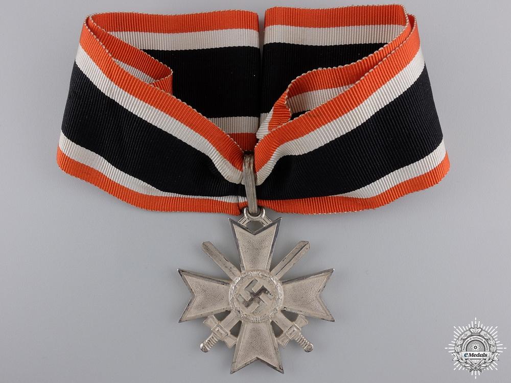A Cased Knight's Cross of the War Merit Cross by Deschler